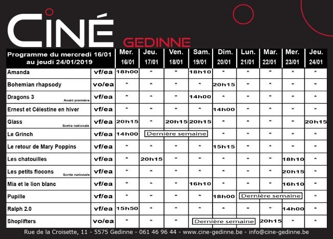 ciné,gedinne,cinéma,pirate,caraïbe,programme,internet,fury,brad