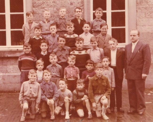 wellin,commune,1958,lomprez,école,photo,1937,passé,classe,communal,blog,sudinfo,sudpresse,la meuse,luxembourg,province,philippe,alexandre,marc fortuné